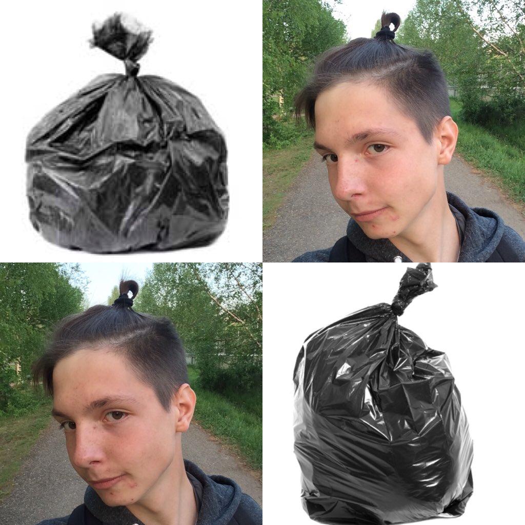 погоне картинка мусорный мешок и прическа поздравления