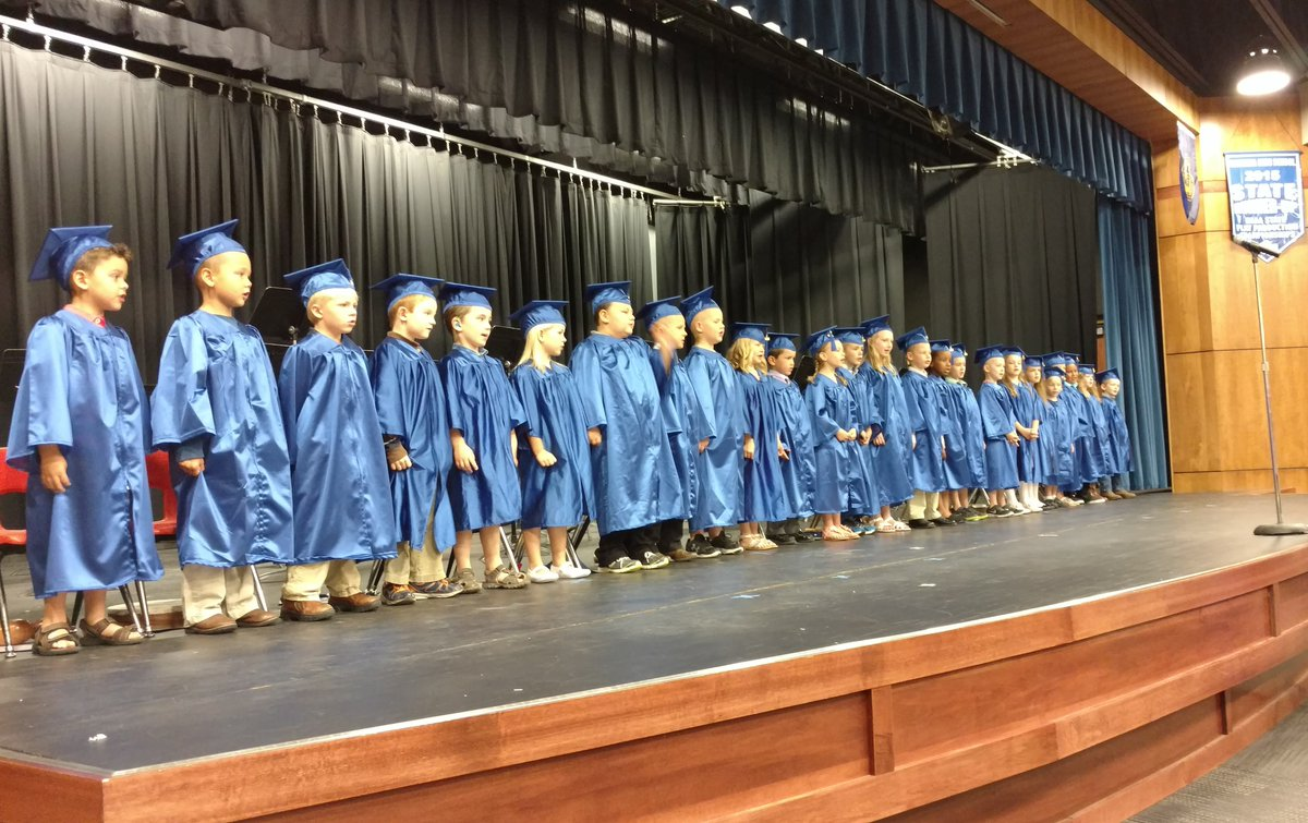 Congratulations to the kindergarten class of 2016! We are so proud of you! #ravway