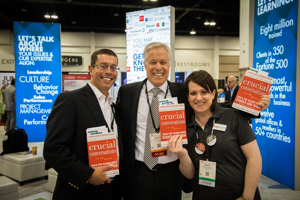 Join @josephgrenny @ 1:30 @ Four Seasons Ballroom 2/3 #ATD2016 w/ @VitalSmarts  #2080ATD then book signing #1601 https://t.co/Vqx0W9gdmX