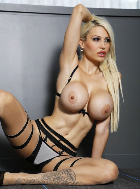 """Bella French  - by <a href="""" twitter @bellafrench69 tittytuesday"""