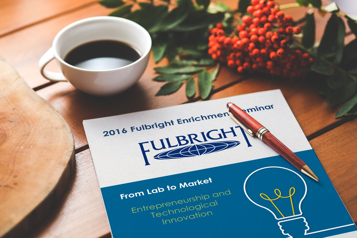 Thumbnail for #FulbrightL2M2016 - From Lab to Market: Entrepreneurship and Tech Innovation Seminar.