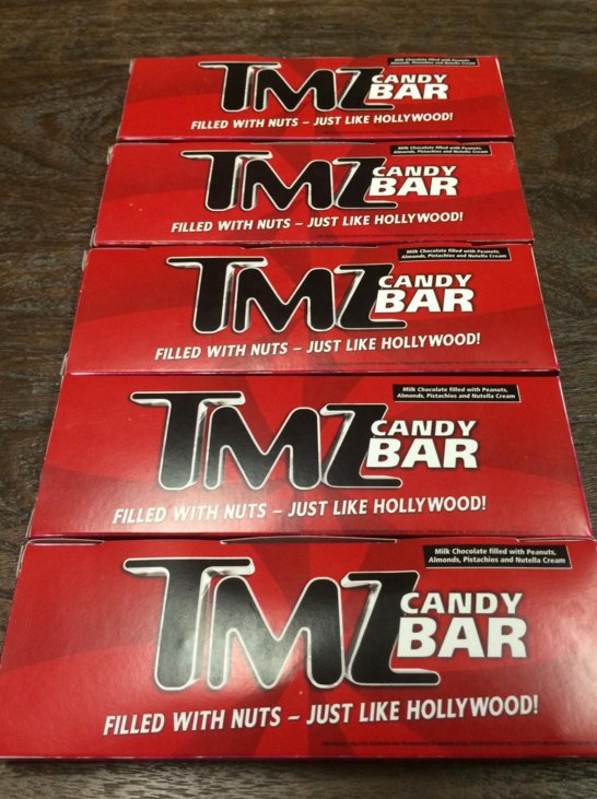 Hollywood: Just like Hollywood, the new TMZ Chocolate bar is