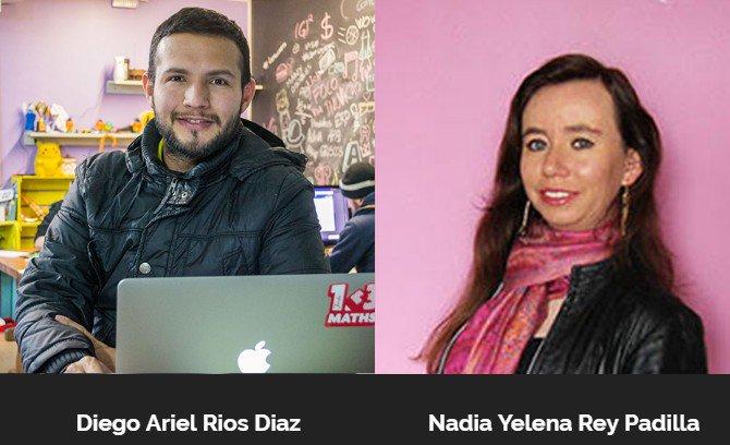 Gracias a nuestros mentores @DiegoArielRios @NayeRey por ser parte de los emprendimientos @AngelHack #Bogotá https://t.co/o60xEEFkPa