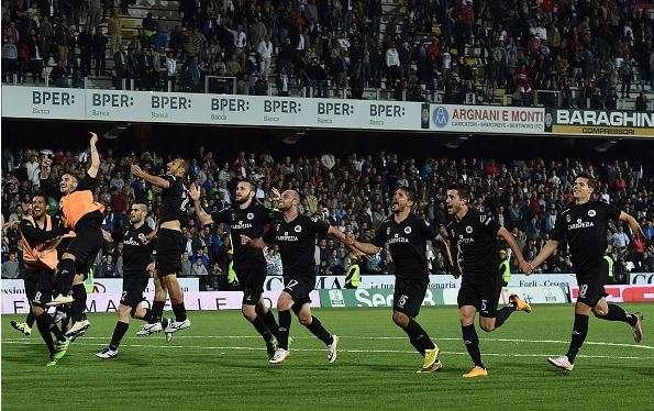 Playoff Serie B: Spezia compie l'impresa, vince a Cesena e vola in semifinale contro il Trapani