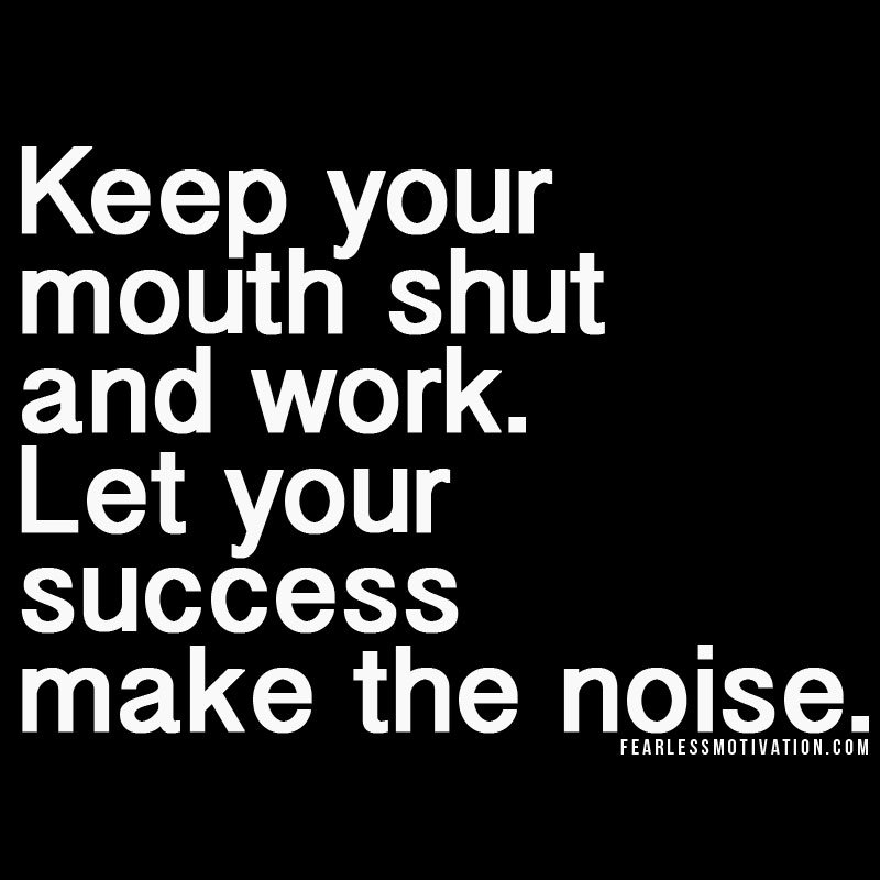 Keep Your Mouth Shout
