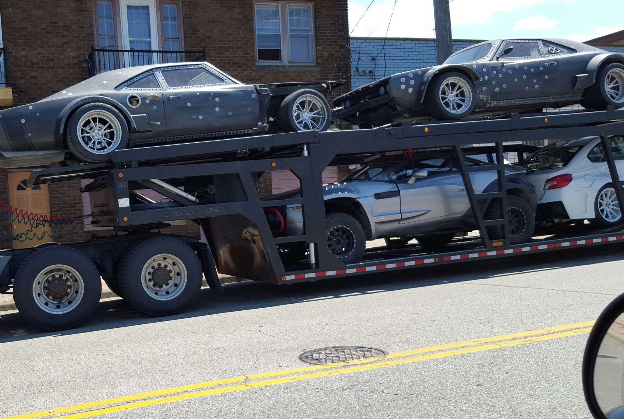 Fast 8 Set Video Featuring Zombie Cars 4