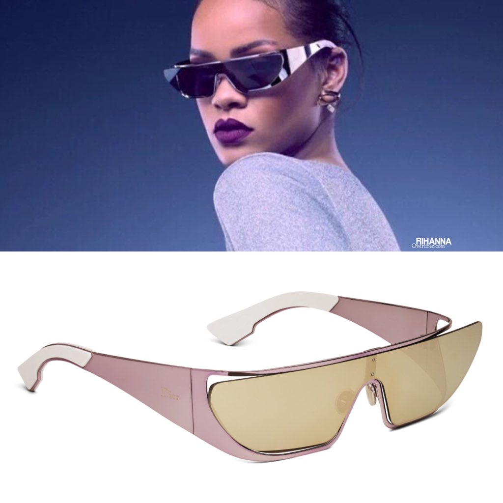 4a62d899da1d7 The Rihanna x  Dior Sunglasses will retail at  840-1950 exclusively at DIOR  stores in JUNE » http   bit.ly 25fr8f6 pic.twitter.com fIFA4ZwNuT