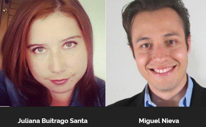 Gracias a nuestros mentores @julianabsanta y Miguel Nieva por ser parte de los emprendimientos @AngelHack #Bogotá https://t.co/CggNCjqSDZ