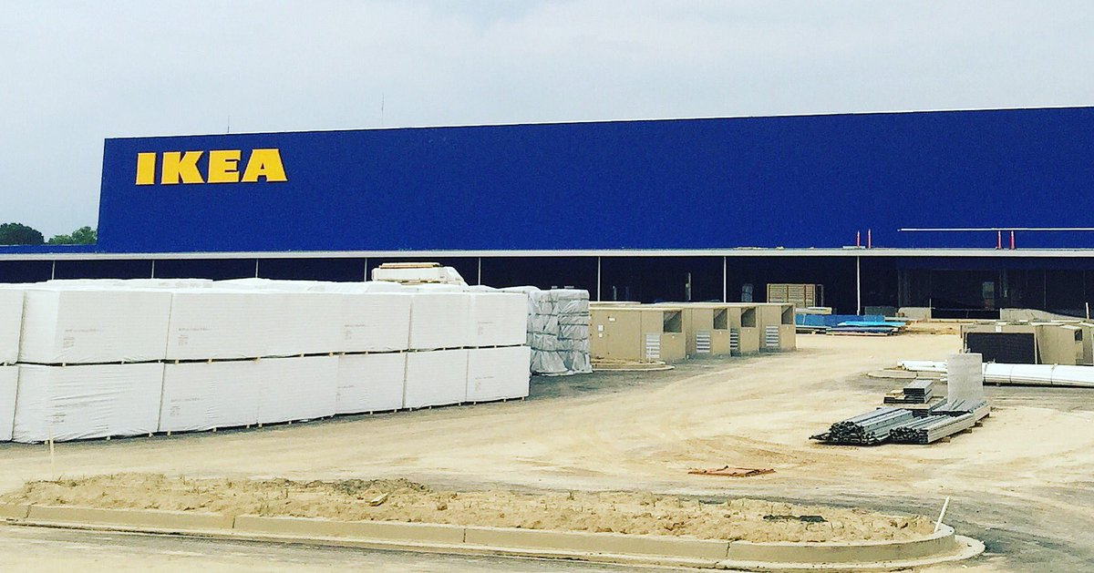 Excited to see the @IKEAMemphis store sign go up today! Can't wait for it to be open this fall in #Memphis. /cm https://t.co/RLXBla0v28