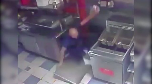 WATCH: Burglar falls through ceiling of Orlando restaurant