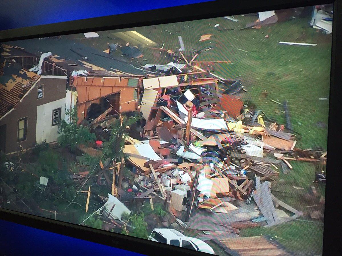 Tornado causa daños graves en Kansas