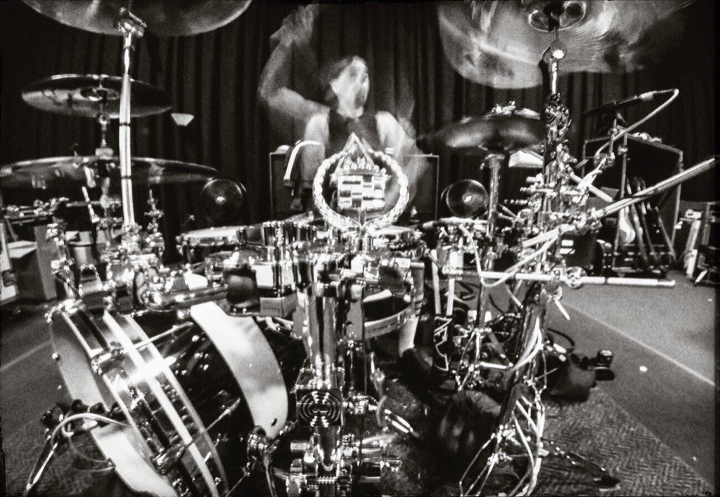 I love capturing moments. I like to think they will end up in history books. @travisbarker #Blink182
