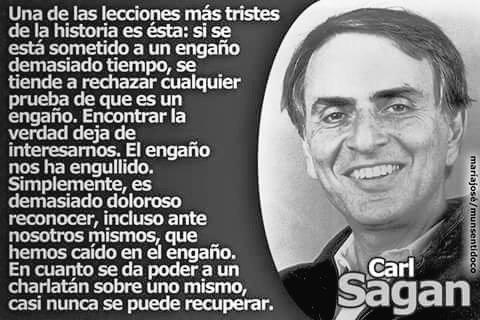 Carl Sagan Frases Twitter પર En Cuanto Se Da Poder A Un
