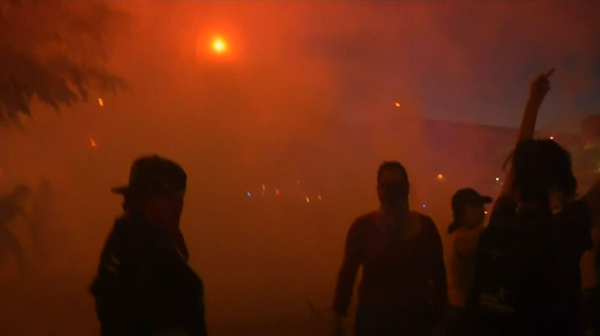 Progressive liberal Democrats riot in Albuquerque