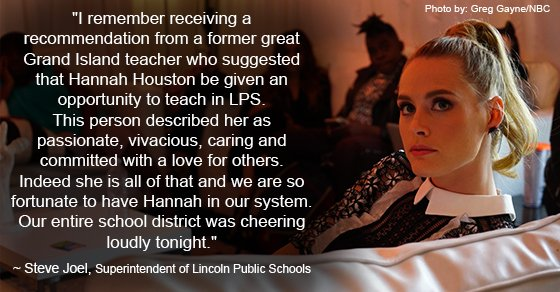 Great job, @thehannahhuston ! You have done such an amazing job! #lpsproud #teacherhannah https://t.co/6TihmUsD83