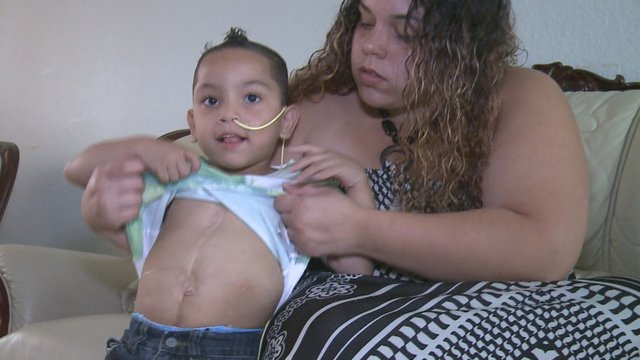 5-year-old 5-organ-transplant survivor speaks to 10News