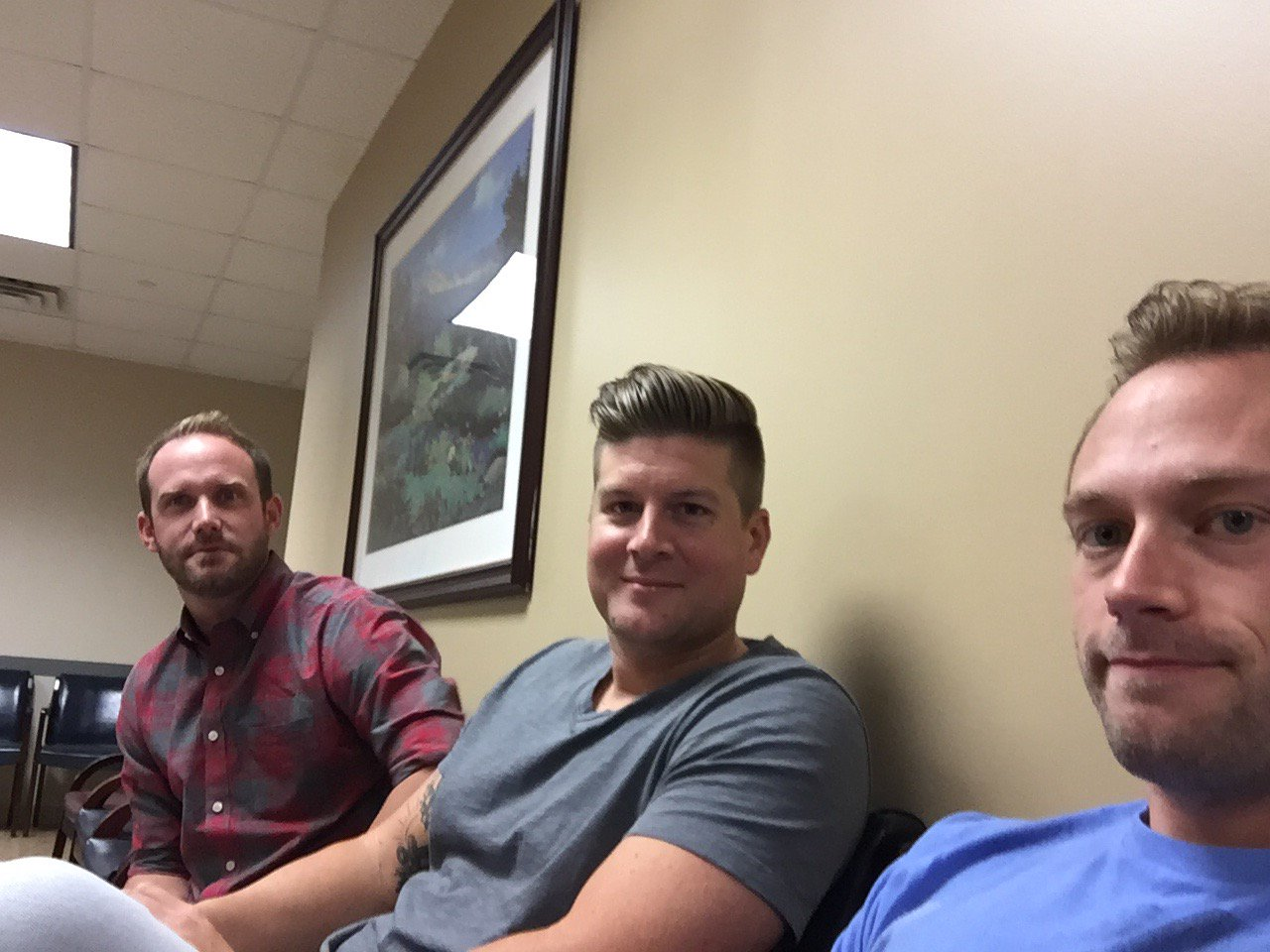 Adam Busby On Twitter The Waiting Room Selfie