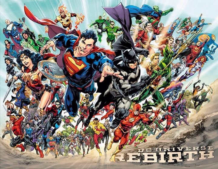 #DCRebirth It's good to be a super hero. https://t.co/3dXVDTr2qm