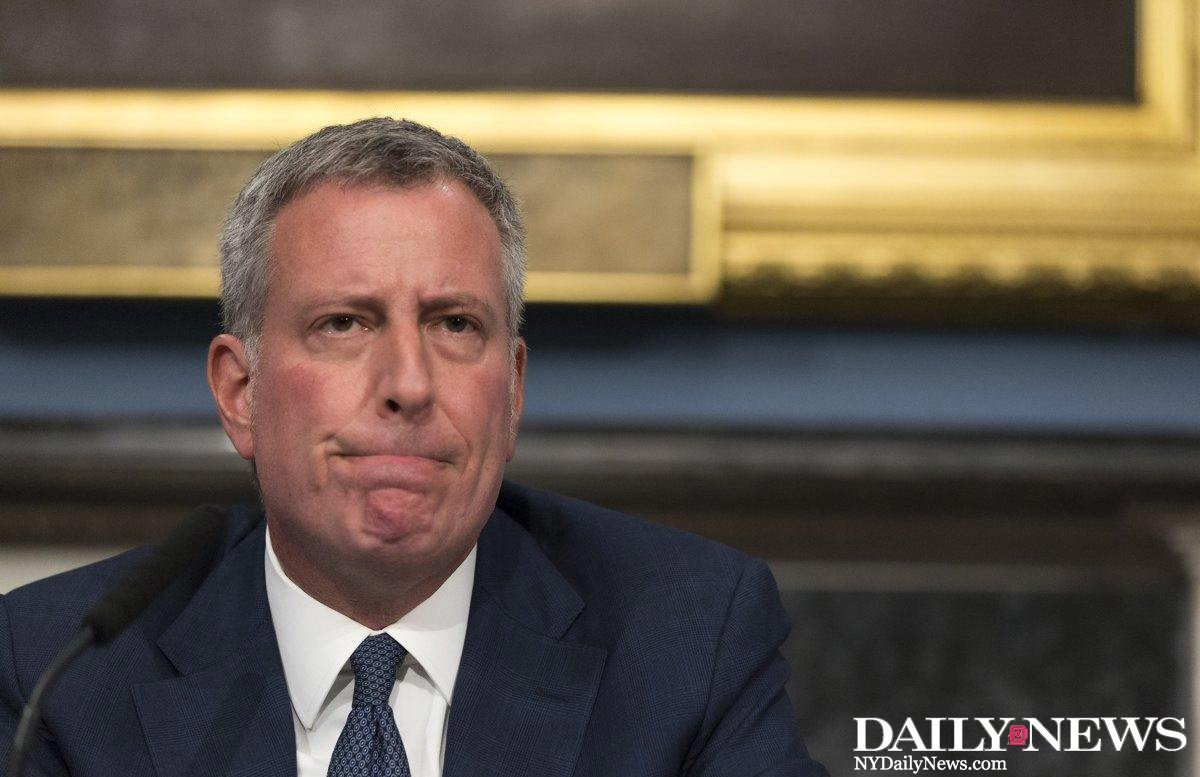 More than half of New Yorkers disapprove of @BilldeBlasio, his lowest point yet