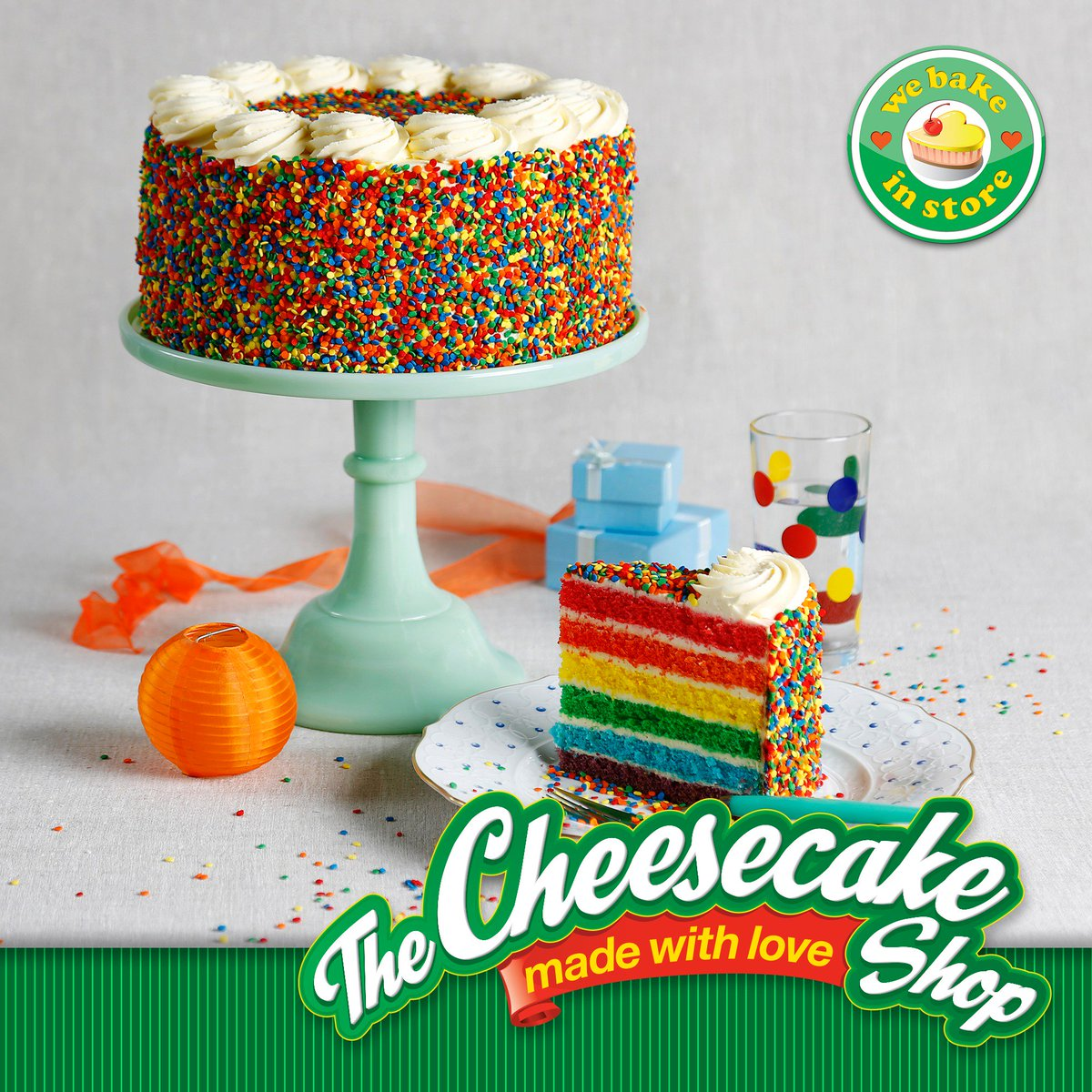 The Cheesecake Shop On Twitter Nothing Beats A Rainbow Cake On
