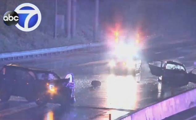 Off-duty NYPD cop hits disabled car on Long Island Expressway, kills 2 stranded motorists