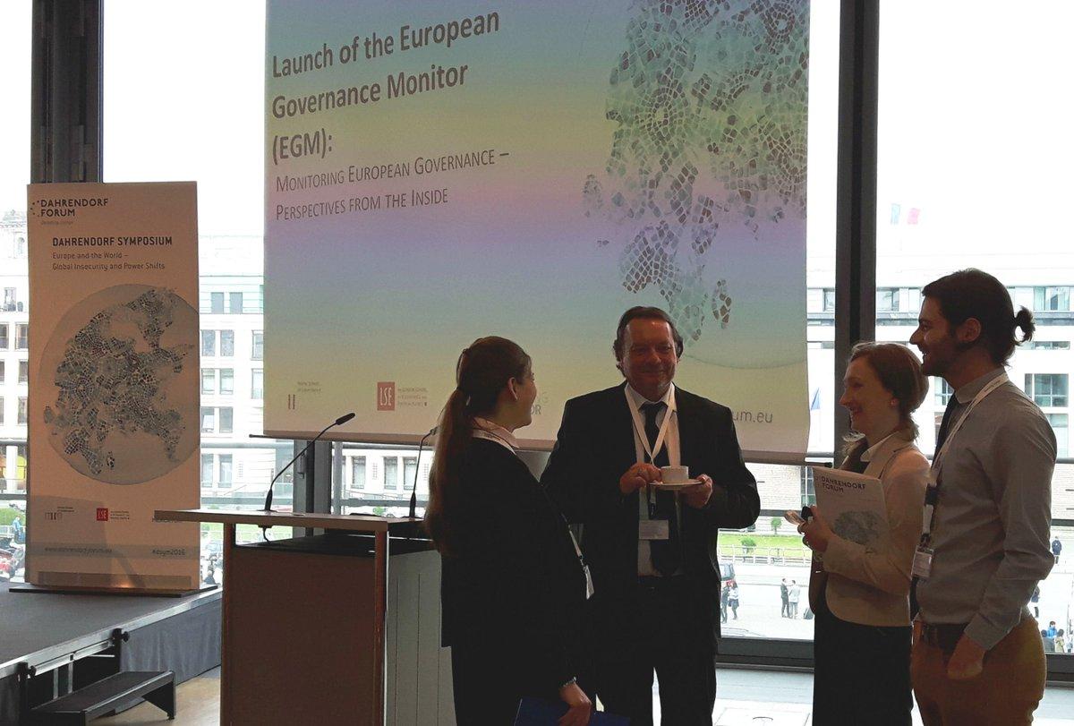 Pre-Dahrendorf Symposium event: Launch of the European Governance Monitor w/ Helmut Anheier. #dsym2016 https://t.co/ASTXLlJObV