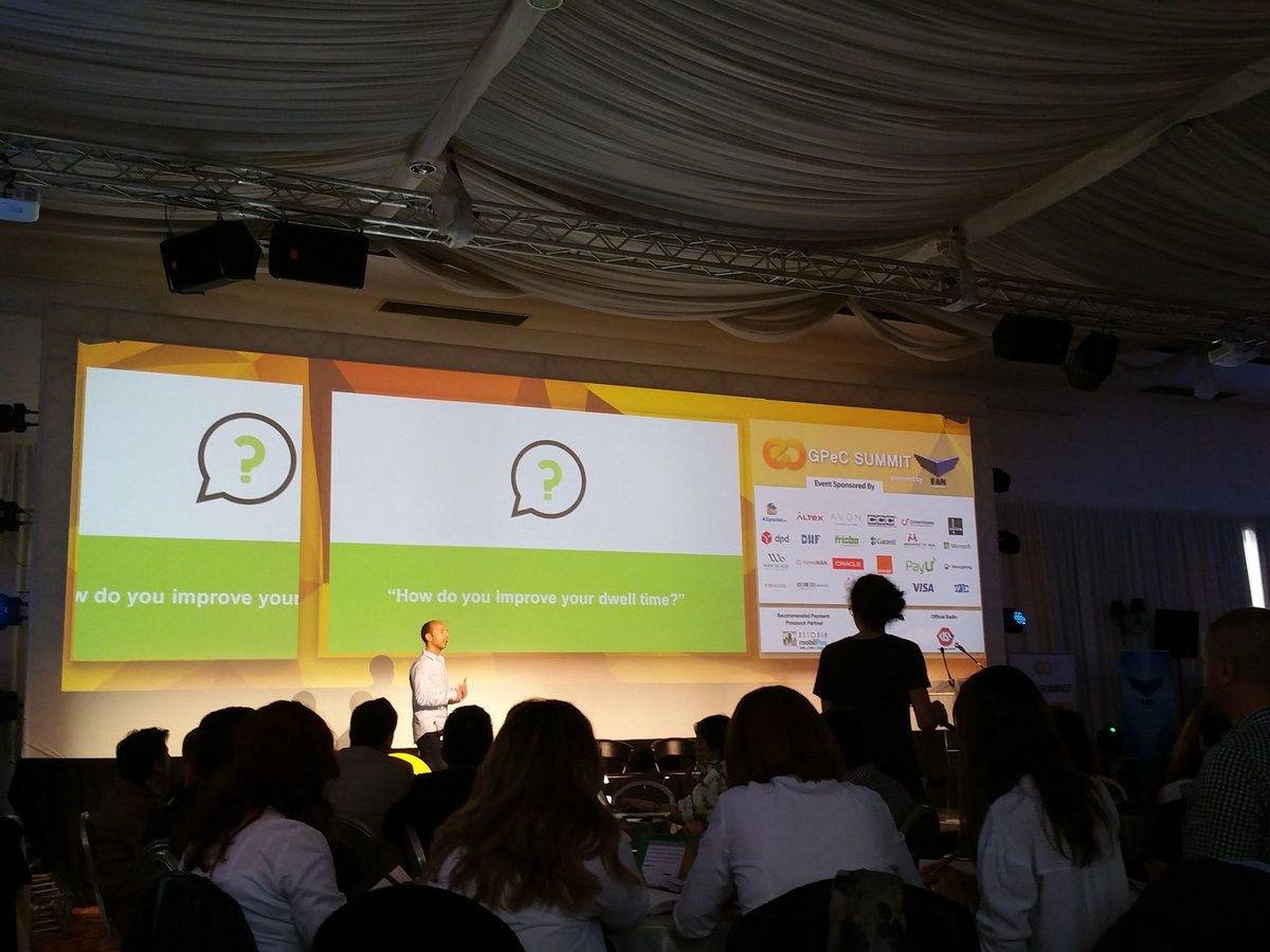 How to improve the interaction with your page by @Backlinko #gpecsummit https://t.co/jxAoHBYHph