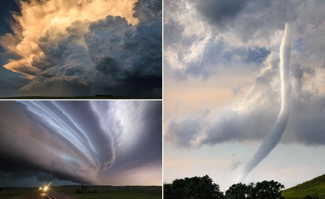 Storm chaser captures breathtaking images across Tornado Alley