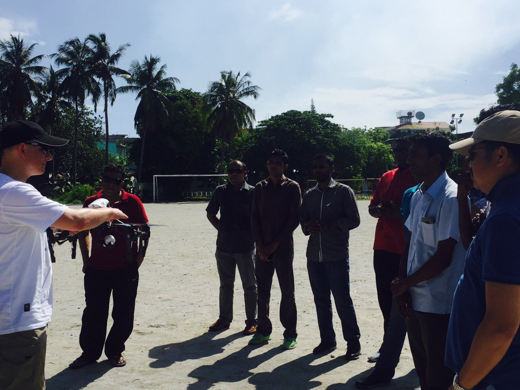 Training happening with a key stakeholder #mndf #undpmaldives #djiglobal #werobotics https://t.co/R3Jb8XYCoE