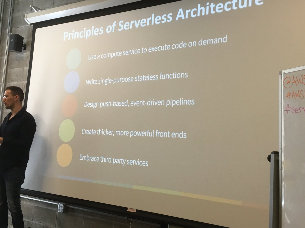 The five #serverless application principles. Take that twelve-factor app! https://t.co/UtoM5RONw6
