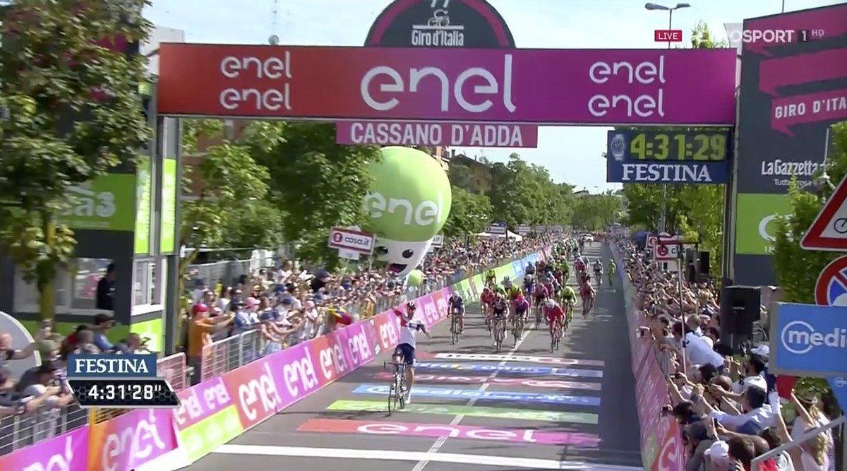 Diretta Giro d'Italia: il tedesco Kluge vince 17a tappa, la classifica generale