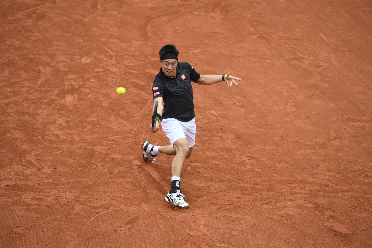 Nishikori slides through to the 3R after notching his 60th ...