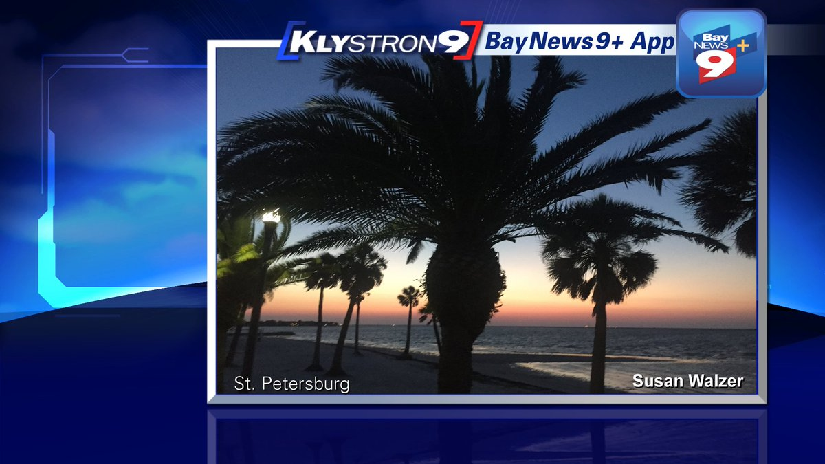Tampa Bay weather: Warm and breezy today in the Bay area