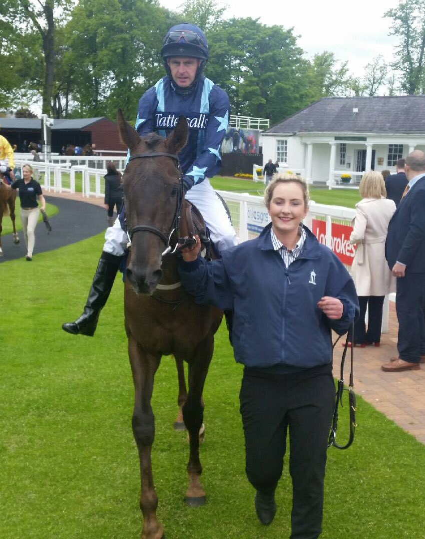 Boundsy heading back to the Hamilton winners enclosure. Well done to owner Kevin Mercer & Partner