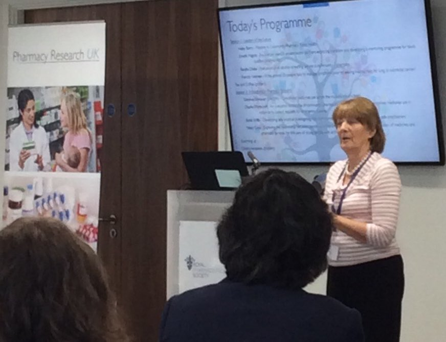 Trustee Sue Ashelby highlighting the amazing work that our scientific ad panel do to support us. https://t.co/On3wgvCfKt