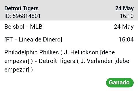 #Betting 24-05 #MLB #Win