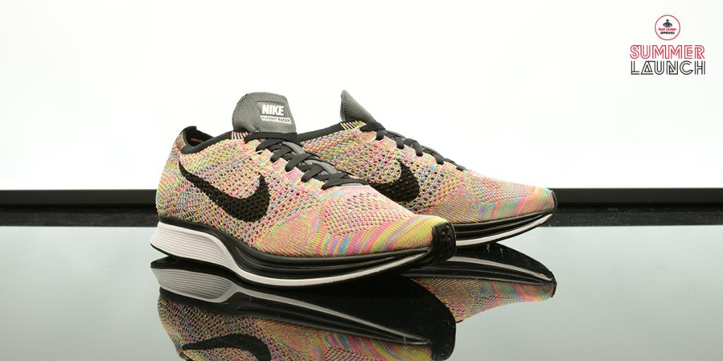 389643f478ad more pairs of the nike flyknit racer rainbow arrived in stores summerlaunch  stores