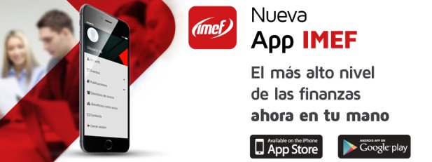 Links para descargar la App IMEF: Itunes Store: https://t.co/9tG1a2PbXt Play Store: https://t.co/ZJdEeHs9FK https://t.co/Q1QFgebnrZ