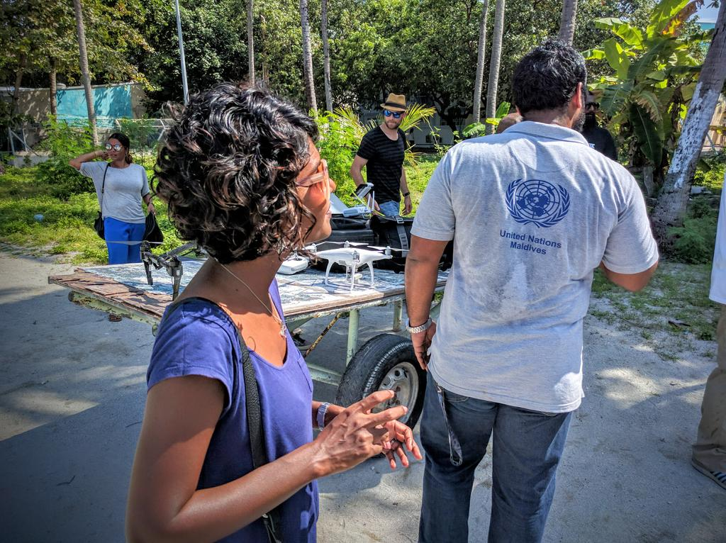 @UNMaldives joins the Vilingili training #dronesforgood @UNDPMaldives @DJIGlobal https://t.co/pY4XjaQtRC