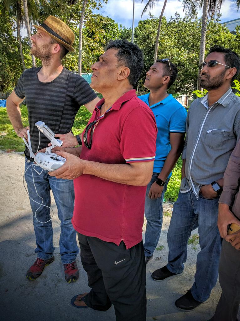 #Maldives National Defense Force (MNDF) was great to work with! Skilled & enthusiastic. @UNDPMaldives @DJIGlobal https://t.co/kJJoFv7BiM