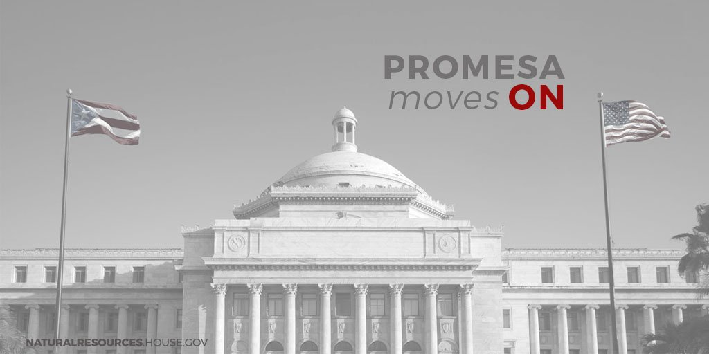 H.R. 5278 #PROMESA passes Committee 29-10 and moves to the Floor! https://t.co/EwBgm0c7GF