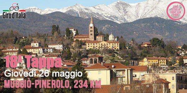 DIRETTA GIRO d'Italia ciclismo: partenza Muggiò arrivo Pinerolo, tappa live streaming gratis Rai TV
