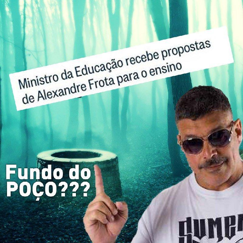 Alexandre Frota propondo políticas educacionais para o @MEC_Comunicacao! E vocês achando que não tinha como piorar!