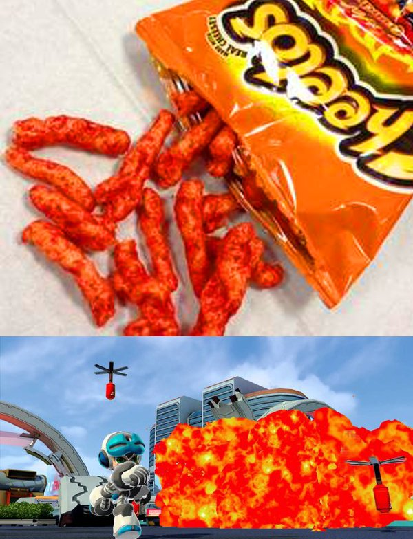 Yo I figured out why these pics of Mighty No.9 were making me so hungry https://t.co/jrOl6pWvHP