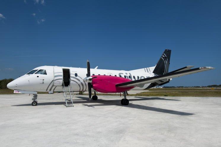 Silver Airways flight from Tampa to Nassau, Bahamas, begins this week