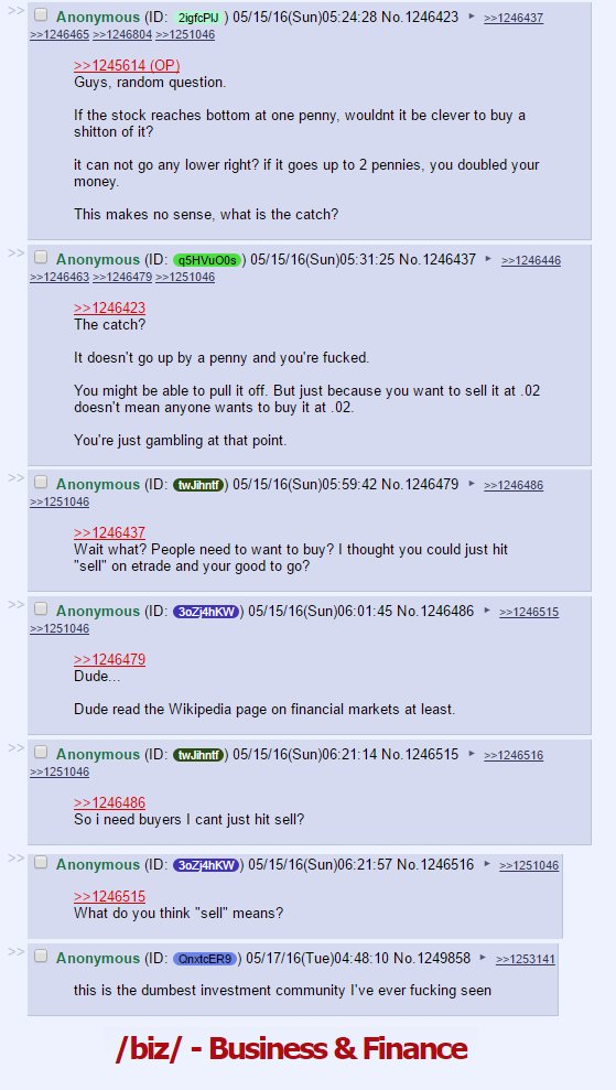 This might be my favorite thread on #4chan ever. https://t.co/T4uZBY8lc0