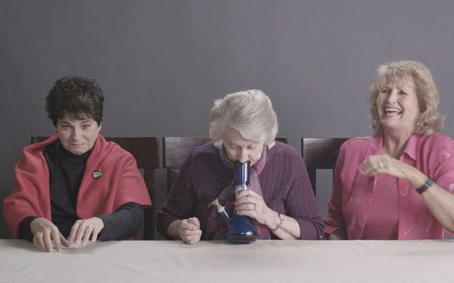 #WeedWednesday: Grandmas Smoke Weed For The First Time