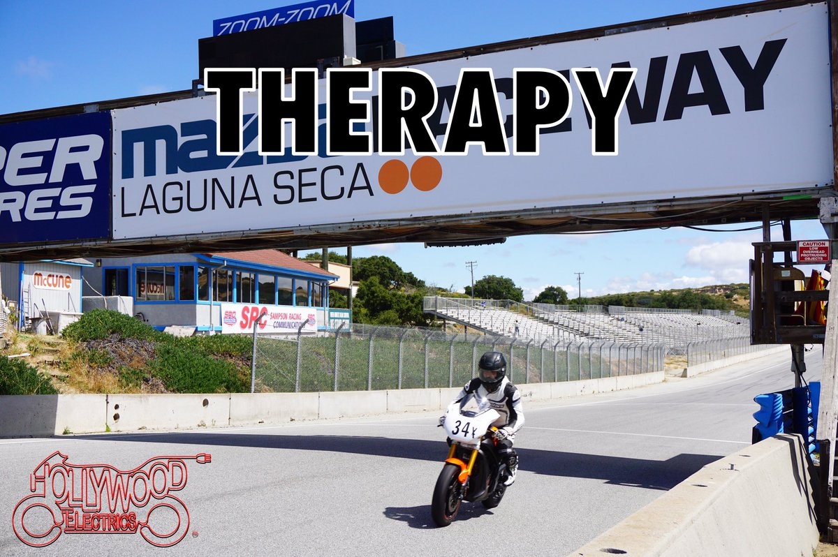 Hollywood Electrics On Twitter Hollywoodelectricsracing Owner 09 Harlanflagg Loving Solo Therapy His Zeromc Electric Motorcycle At Lagunaseca