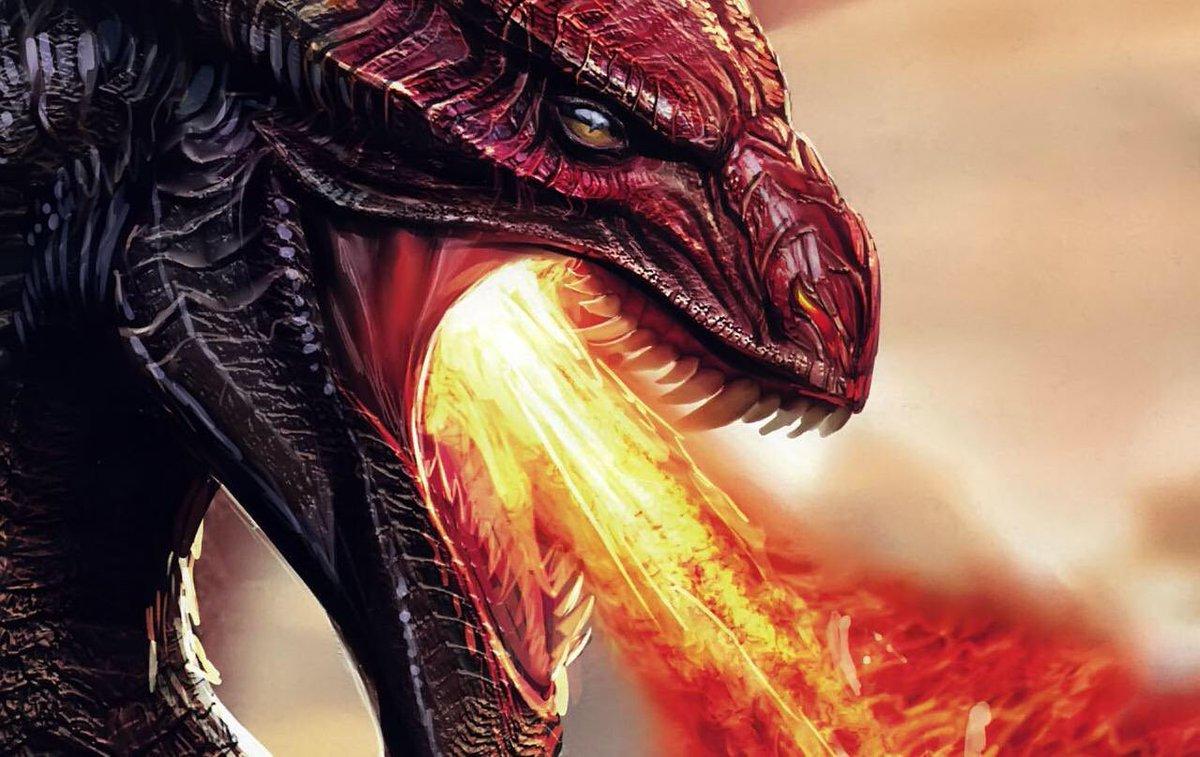 Черный дракон дышит огнем картинки