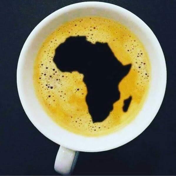 A cup of strong  black coffee. No milk. #Gratitude